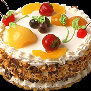 Tort clasic Kranz cu fructe -0