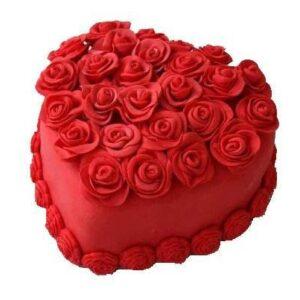Tort Rosu ca focul-0