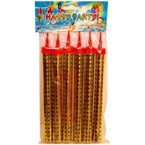 Set de 6 artificii pentru tort (20 cm)-0