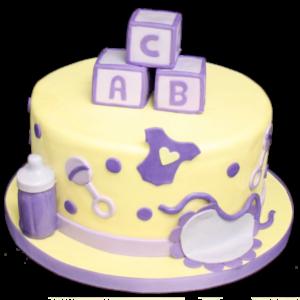 Tort botez ABC-0