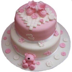 Tort botez Pink-0