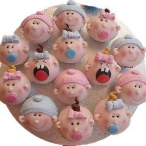 Cupcakes cu chip de bebelus-0