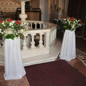 Stalpi ornamentali nunta sau botez