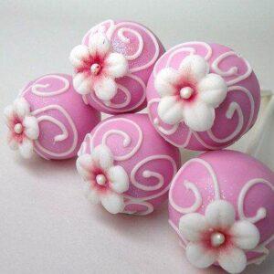 Cakepops cu flori-0