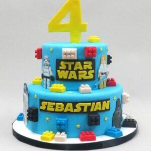Tort pentru copii Star Wars -0