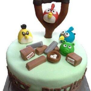 Tort pentru copii Angry Birds