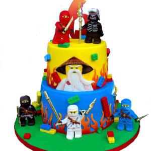 Tort cu Lego Ninjago 2
